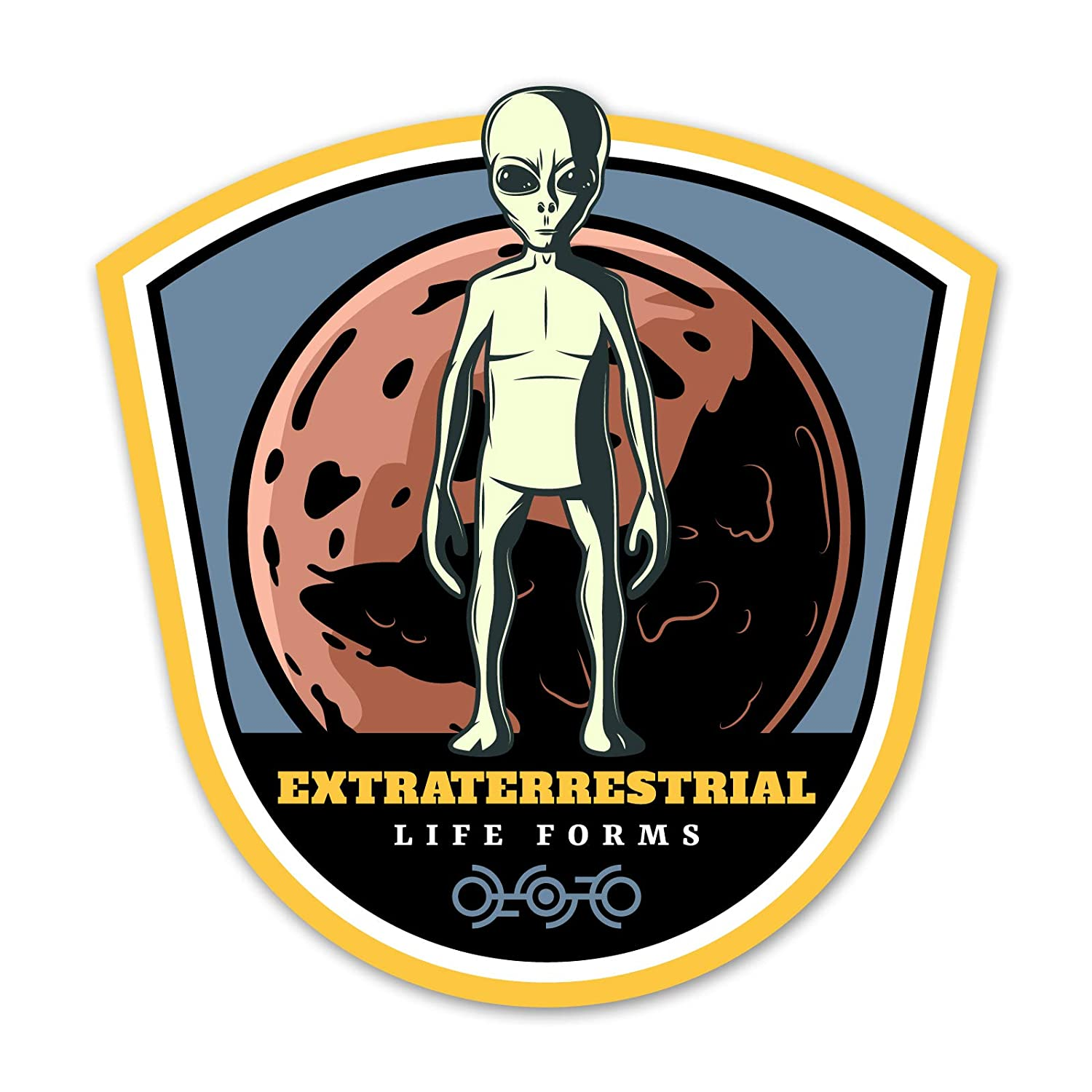 Amazon.com: Ninja Pickle Space Badge Extraterrestrial Life ...