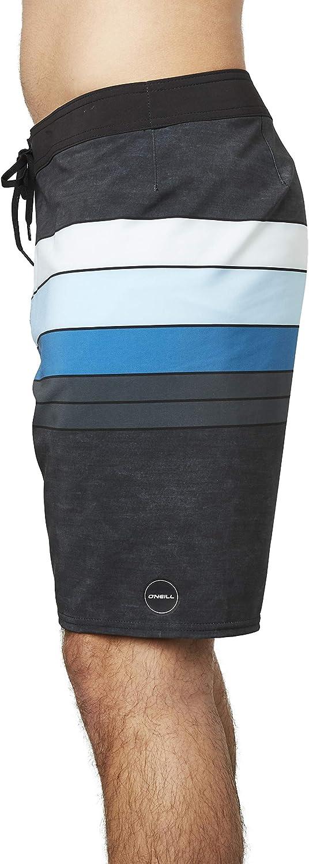 ONeill Mens Water Resistant Hyperfreak Stretch Swim Boardshorts 19 Inch Outseam