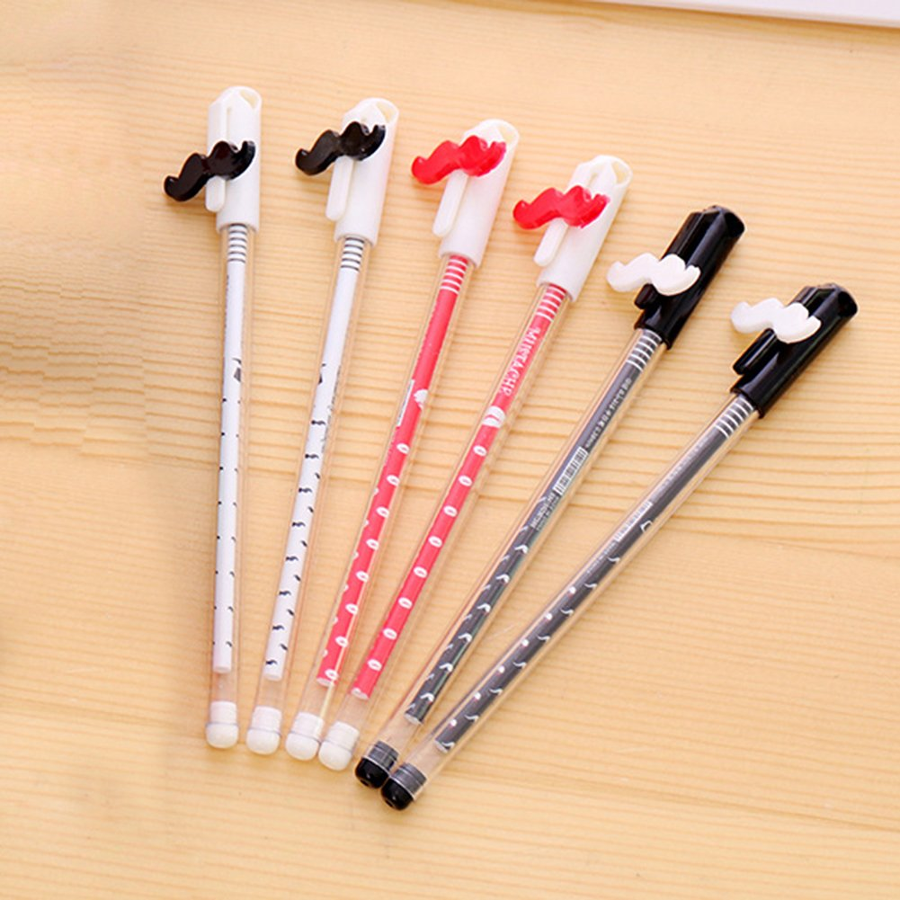 4Pcs Kawaii Rabbit 0.38mm Black Ink Gel Pens Stationery Office School Supplies Pengyu