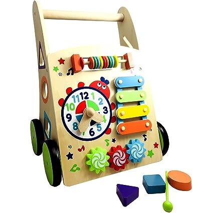 Imagen del artículo 13016 – Andador Baby unidad carro gehfrei Madera Walker unidad Aprendizaje Infantil