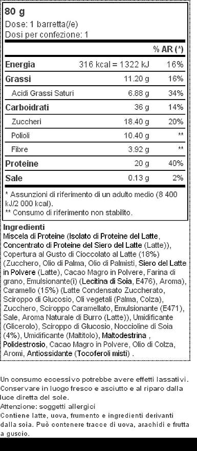 Prozis Protein Gourmet Bar 80 g Chocolate con leche: Amazon.es: Salud y cuidado personal