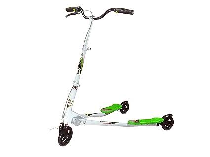 Street Speeder - Patinete con forma de V Con 3 ruedas y ...