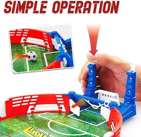 ShenyKan Tabletop Table Football Table Silicona Material Mixto Reducir el estrés Entretenimiento Familiar Interior Niños Práctica Juguetes: Amazon.es: Hogar