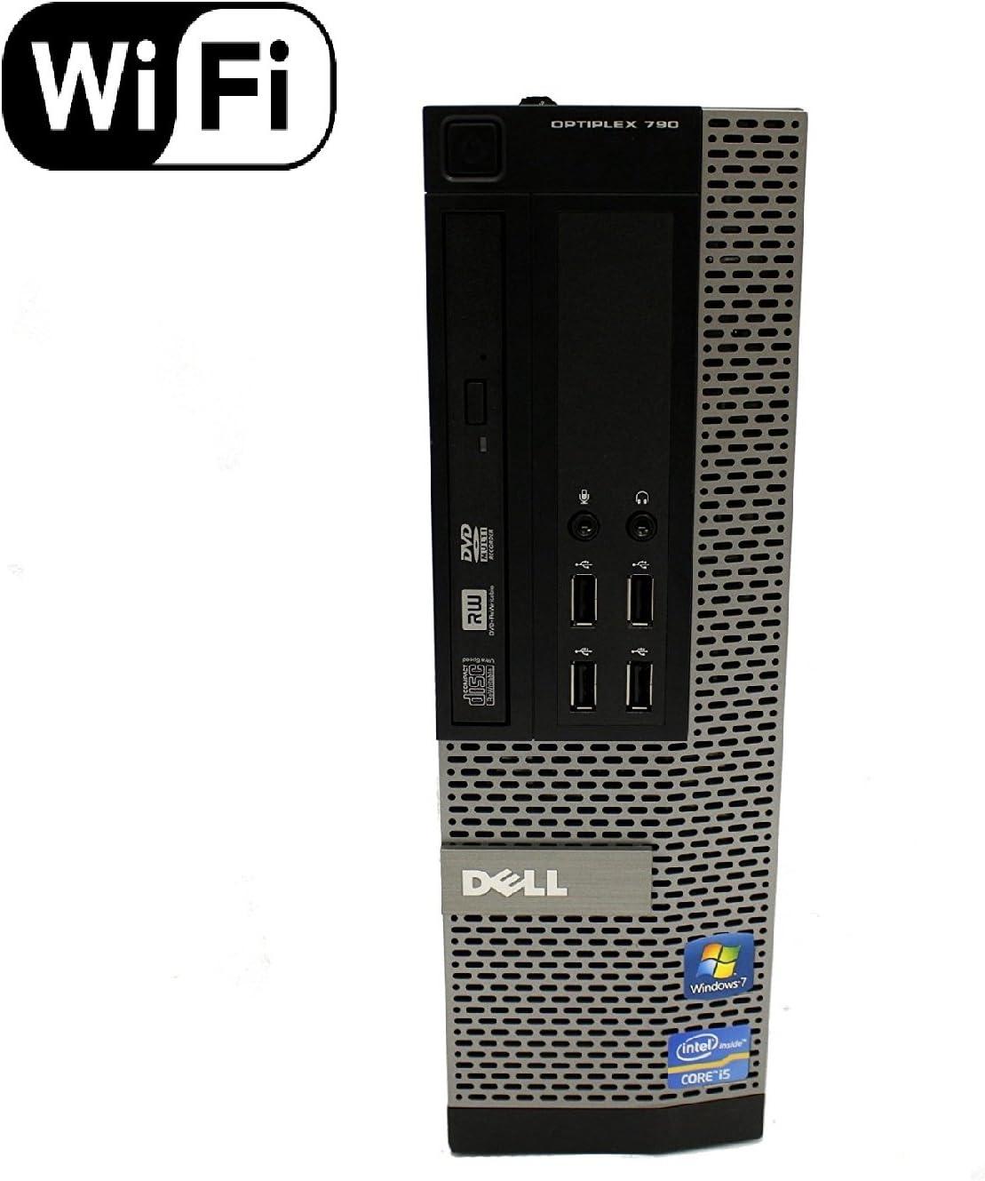 Dell Optiplex 790 SFF Small Form Factor Business Desktop Computer PC Intel Dual Core i3 CPU 3.3GHz, 4GB DDR3 Memory, 500GB HDD, DVDRW, Windows 10 Professional Renewed