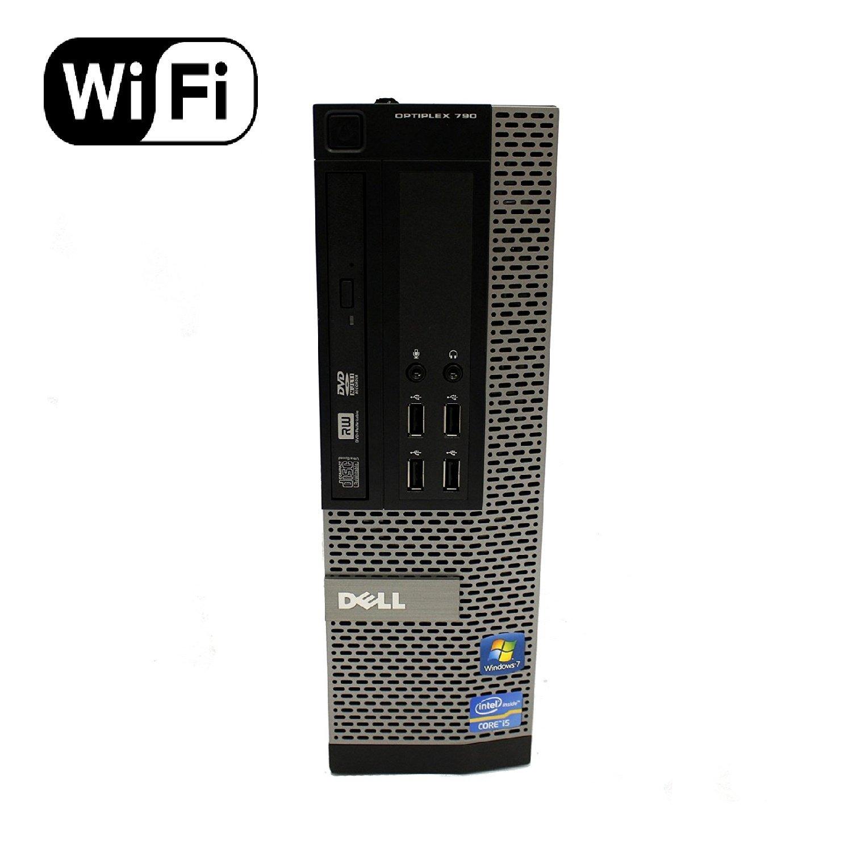Dell OptiPlex 790 Small Form Factor Desktop PC (Intel Core i3-2120 3 3GHz,  8GB, 120GB Brand New SSD, Windows 10 Pro (Certified Refurbished)