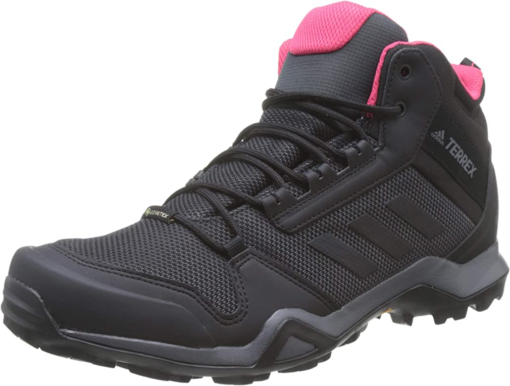 adidas Damen Terrex Ax3 Mid GTX W Trekking- & Wanderstiefel, Schwarz