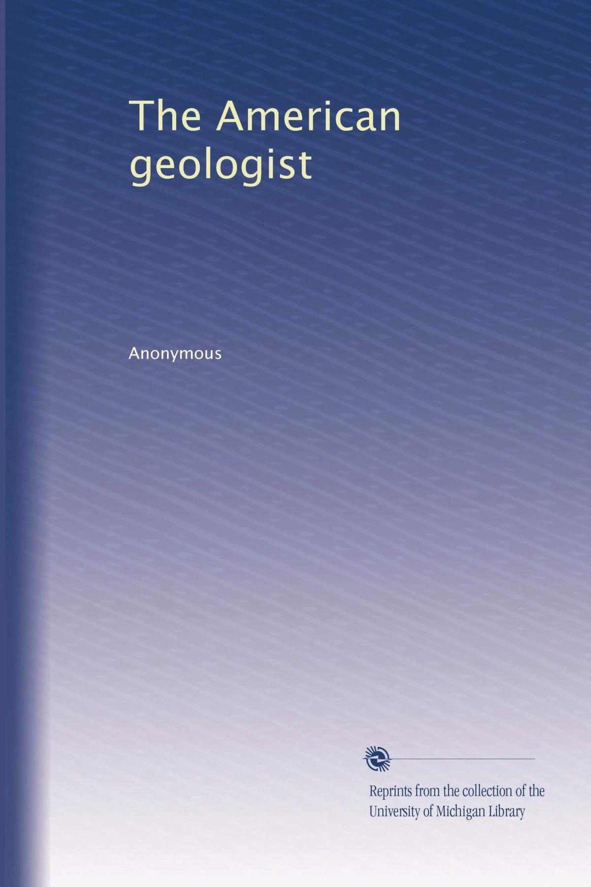 The American geologist (Volume 26) pdf epub