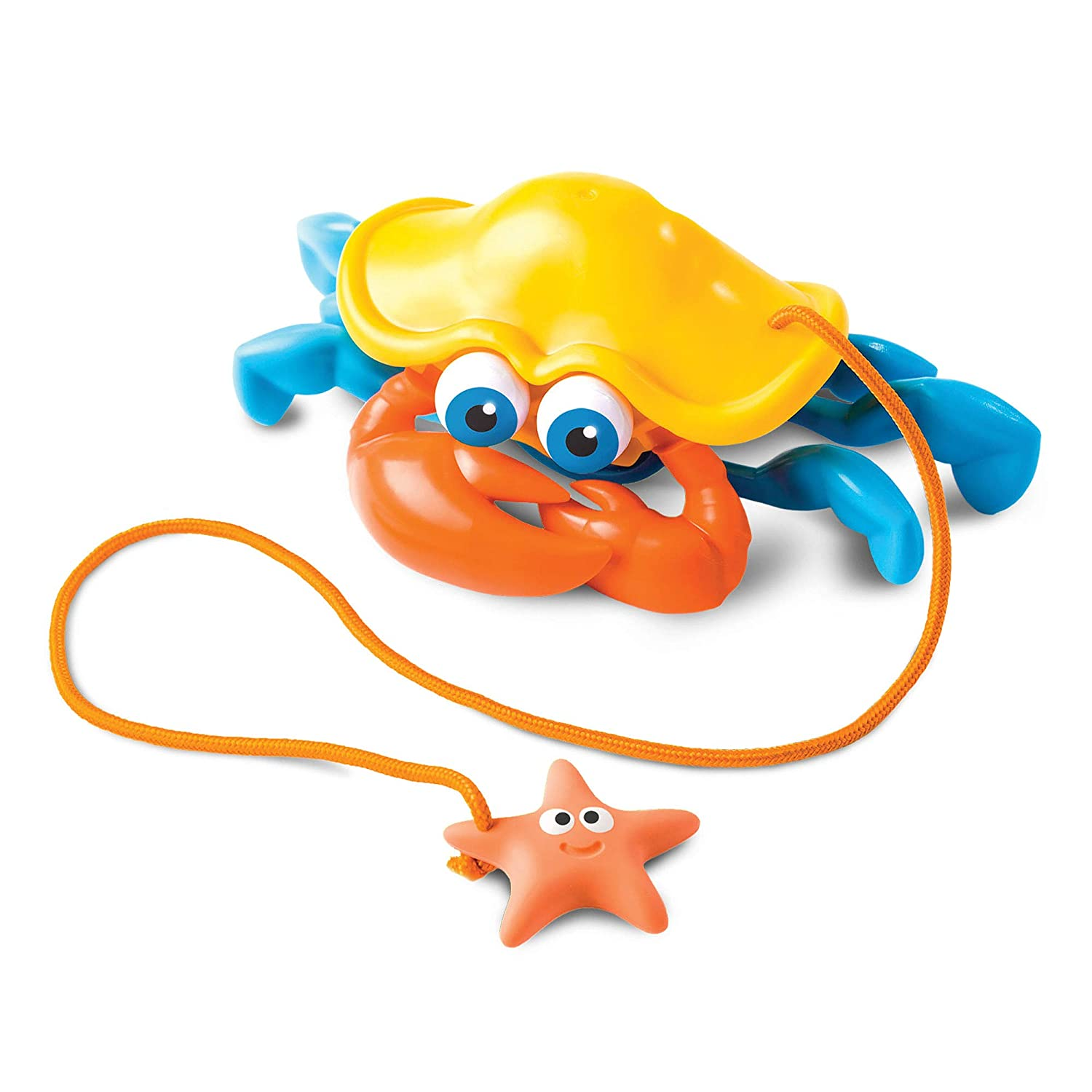 Fat Brain Toys Pull Along Pals - Crabby Fat Brain Toy Co. FA175-1