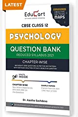 Educart CBSE Psychology Class 12 Question Bank (Reduced Syllabus) for 2021 Kindle Edition