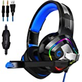ZIUMIER Stereo Gaming Headset for PS4, PC, Xbox...