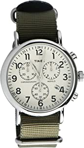 Timex Watch for Men with Fabric Strap, Analog, TW2P71400