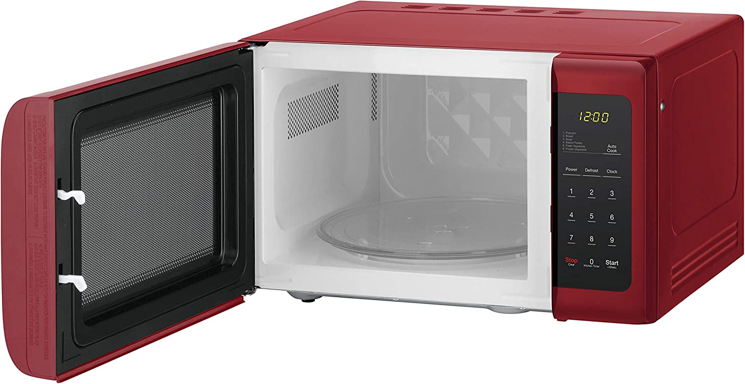 Magic Chef MCD993R 0.9 Cubic-ft Countertop Microwave Red