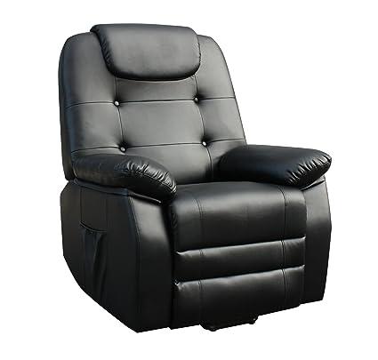 ECO-DE Sofa de Masaje Alta Gama, Sistema Shiatsu con 4 ...