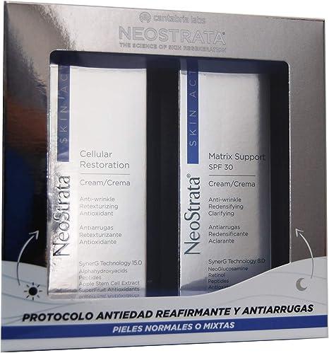 IFC NEOSTRATA Skin Active Pack Matrix Support Spf 30 Crema 50g + Cellular Restoration Crema 50 g: Amazon.es: Belleza