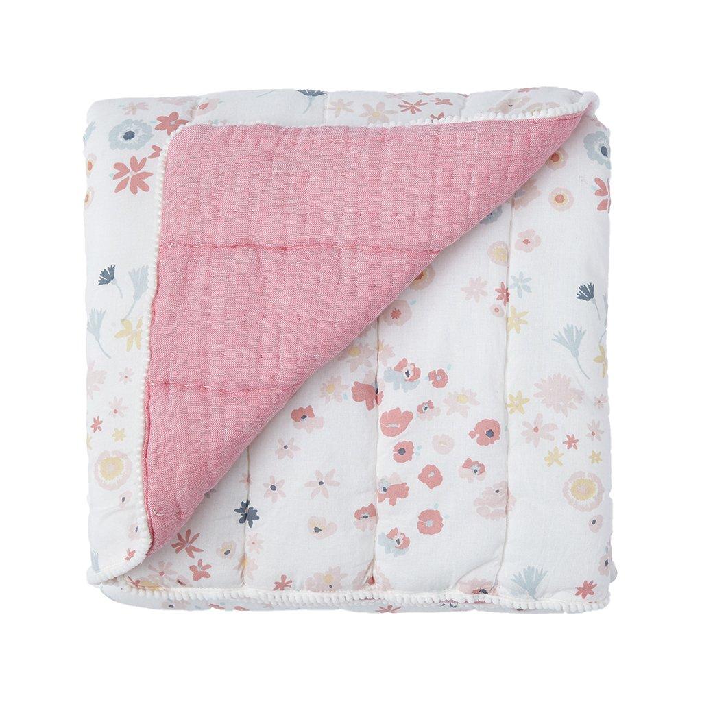 Pehr Meadow Quilted Blanket by PEHR