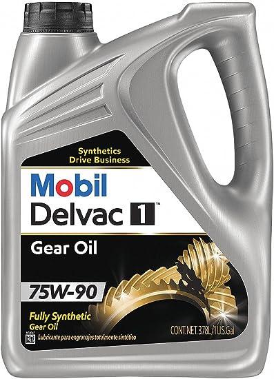 Mobil Delvac Syn Gear 75 W90, Gear aceite, 1 g 112811: Amazon.es ...