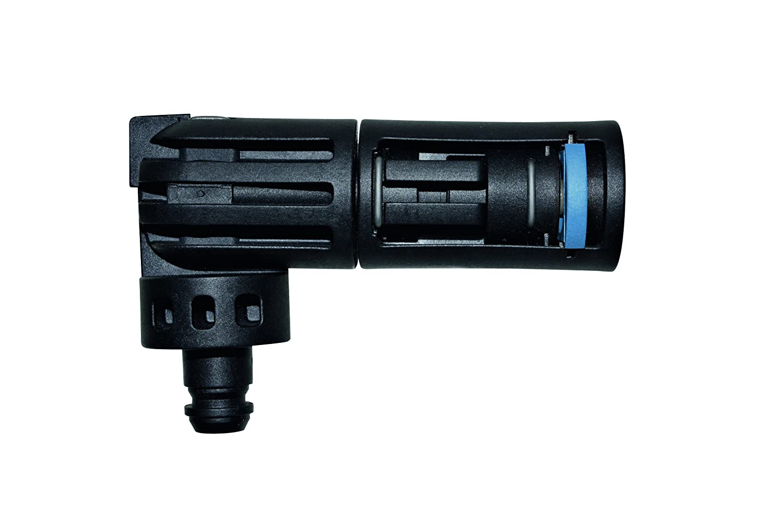 Black//Blue compatible with Pressure Washers Nilfisk Multi Angle Nozzle