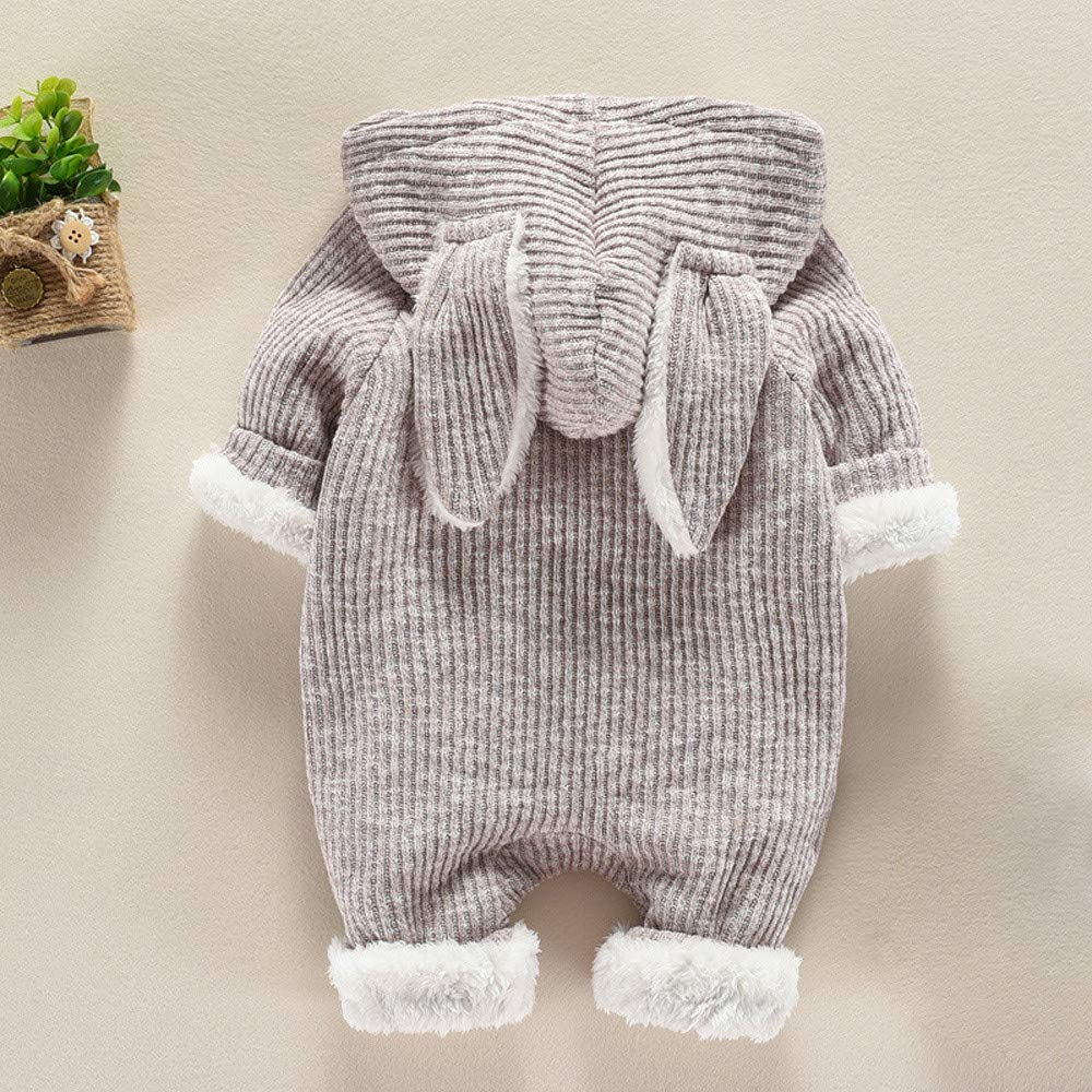 Amazon.com: Baulody Newborn Baby Boys Girls Cartoon Hooded 3D Ear Romper Jumpsuit Clothes: Clothing