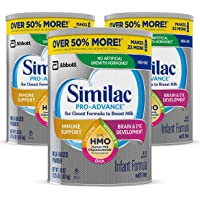 Deals on 3 Pack Similac Pro-Advance Non-GMO Infant Formula w/Iron