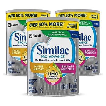 Similac Pro-Advance Non-GMO Infant Formula with Iron