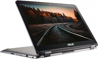 "ASUS TP501UQ-DN015T Portátil VivoBook Flip 15.6"", Bluetooth+ Wi-Fi, Intel Core i7-6500U 2.7Ghz, 8GB RAM, 1000GB Disco Duro, Windows 10, color Gris Metálico Reacondicionado (Certified Refurbished)"
