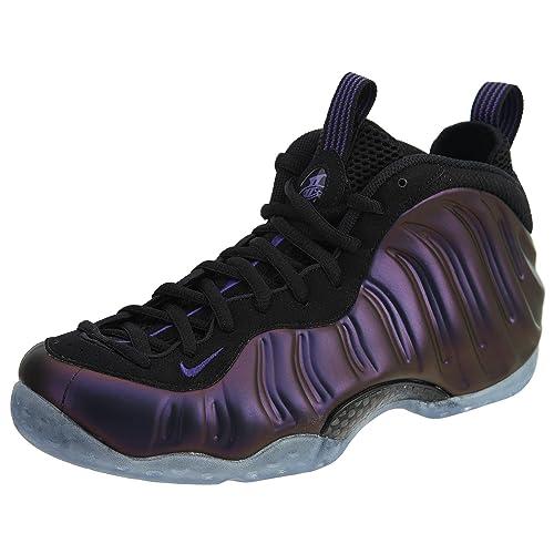 new arrival f5c13 67d40 Nike Air Foamposite One Eggplant Purple Black Men Shoes 314996-008 US Size  11.5  Amazon.in  Shoes   Handbags