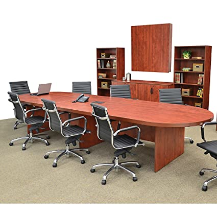 Amazon.com: Regency Extension For Modular Conference Table With Data Port    Mahogany: Kitchen U0026 Dining