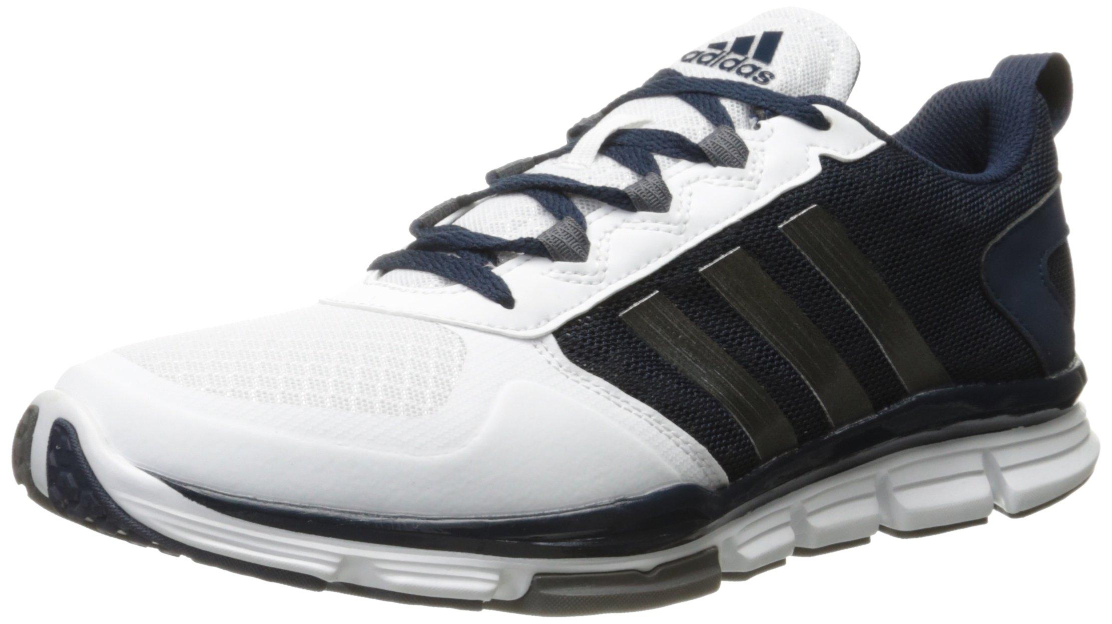 adidas Men's Freak X Carbon Mid Cross Trainer, Collegiate Navy/Carbon Met. White, (9.5 M US)