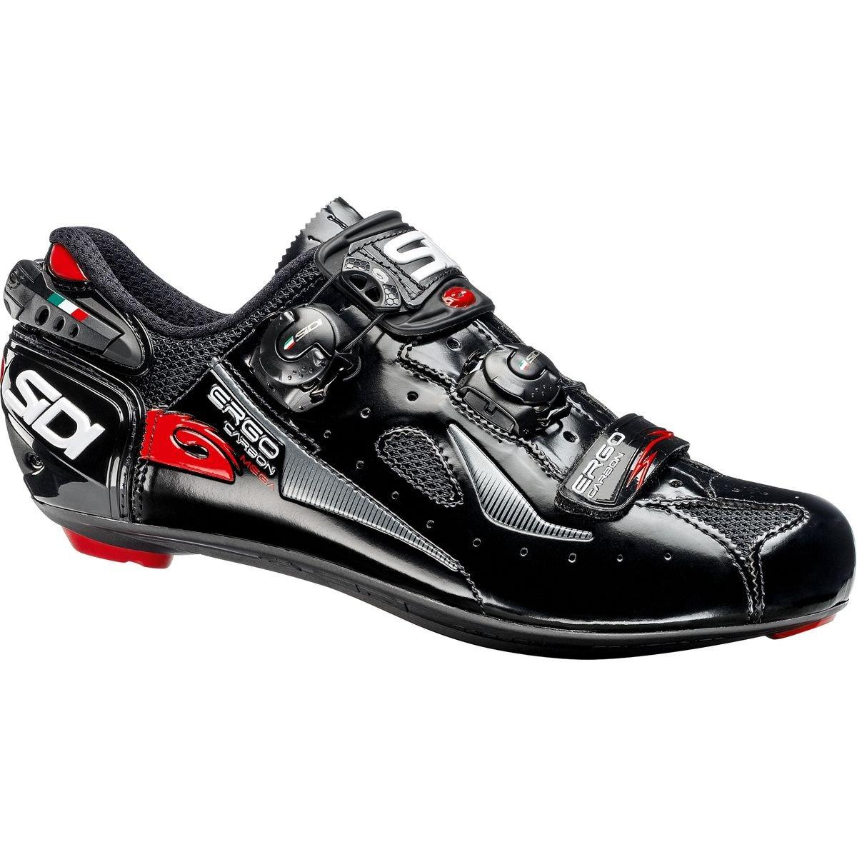 日本最大のブランド (シディ) Sidi Ergo 4 Carbon Mega 29.5cm (シディ) Shoe Mega メンズ ロードバイクシューズBlack [並行輸入品] 日本サイズ 29.5cm (46.0/Wide) Black B07G761FKV, ガラスshopISHIZUKA:e4ec5b2a --- by.specpricep.ru