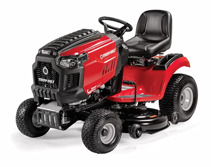 Troy-Bilt Super Bronco Riding Lawn Mower with 50-Inch Deck and 679cc Engine