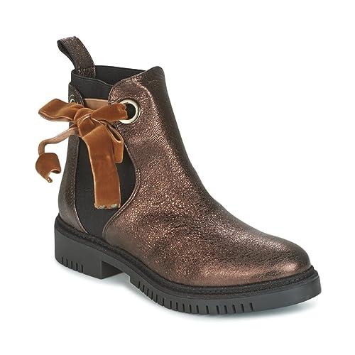 CAFÉ Noir DERBI Botines/Low Boots Mujeres Bronce - 40 ...