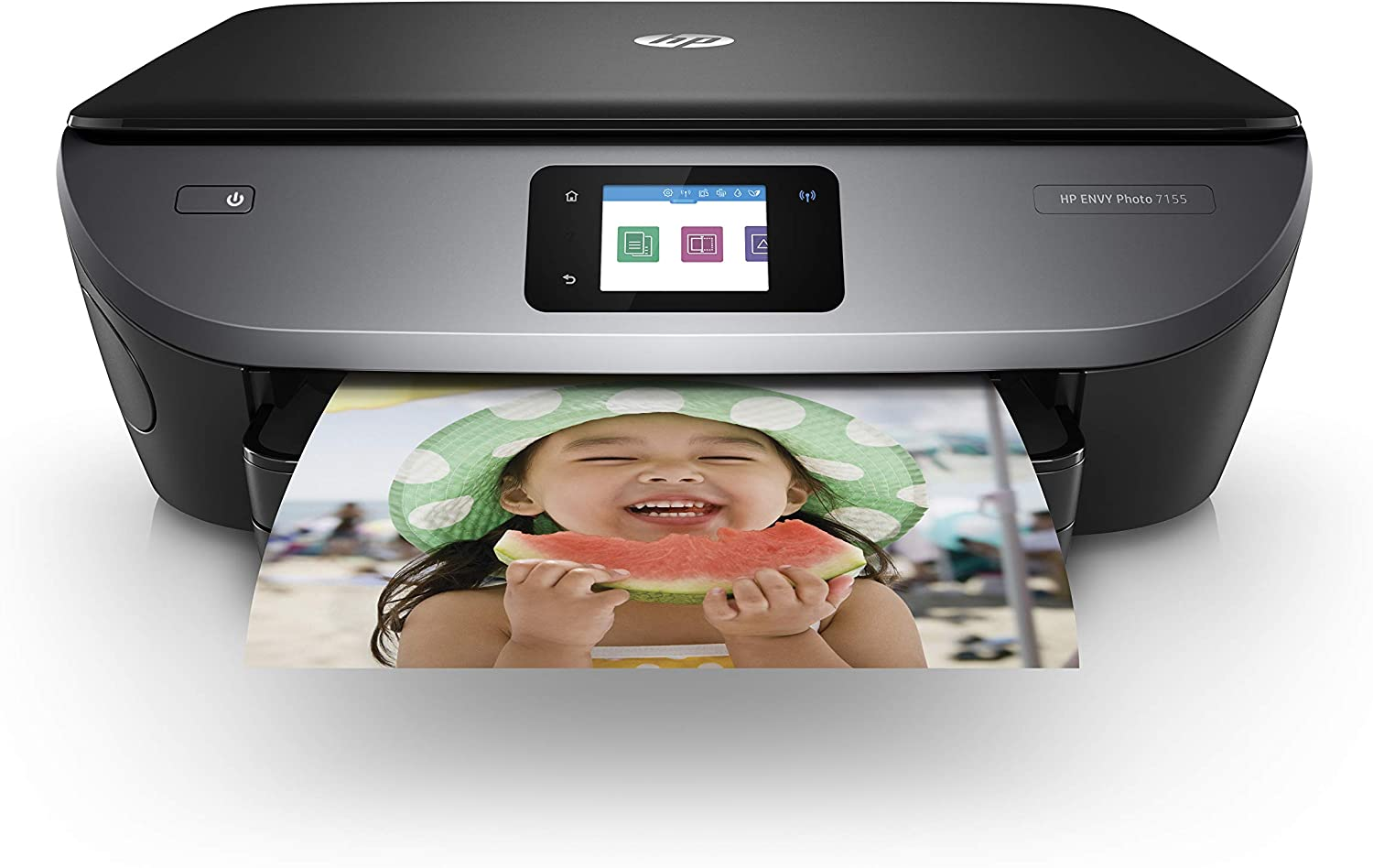 HP Envy Photo 7155 All in One Photo Printer with Wireless Printing, HP Instant Ink or  Dash Replenishment Ready (K7G93A): Electronics