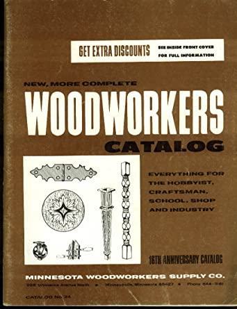 Minnesota Woodworkers Supply Catalog 24 1970s At Amazon S