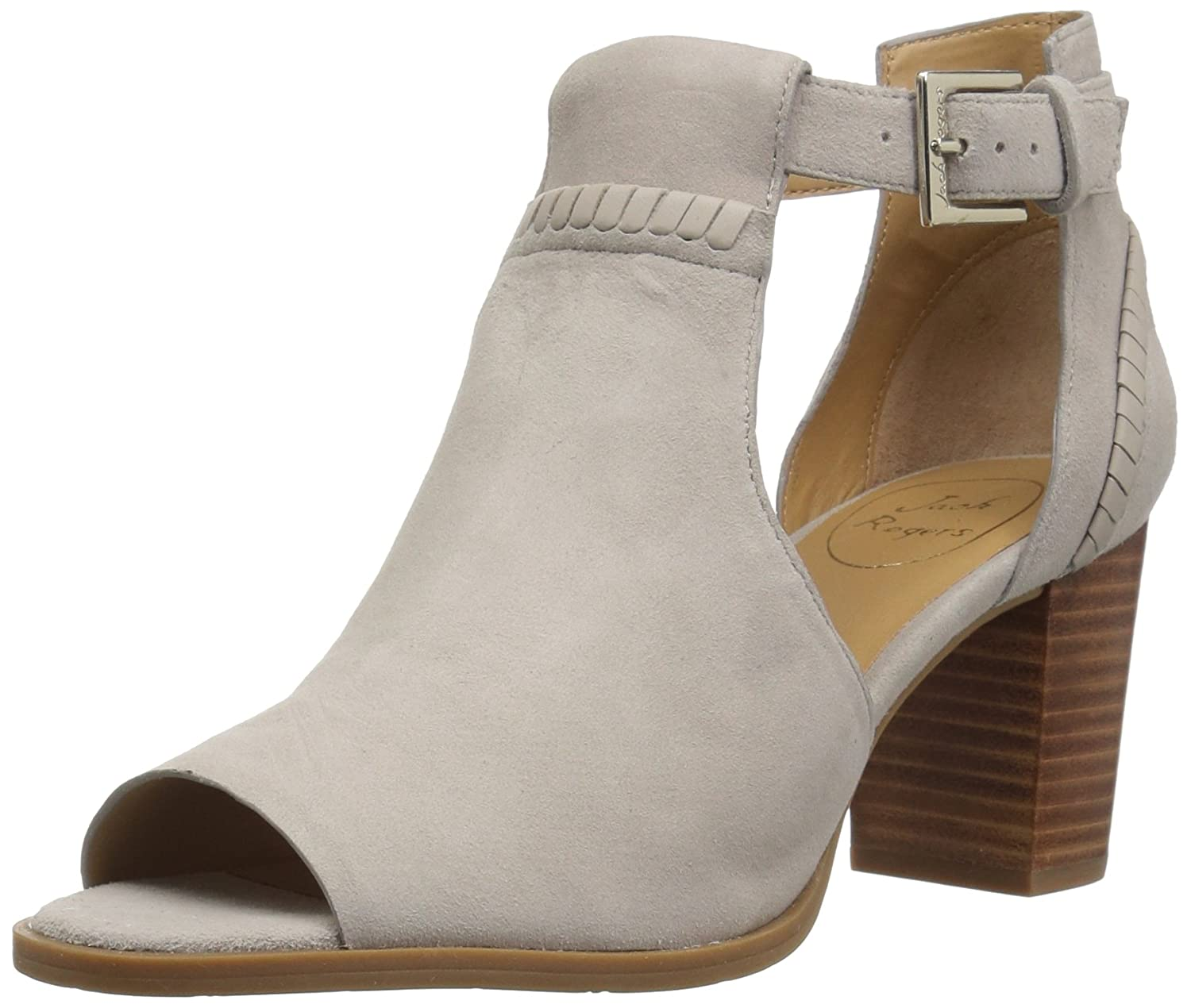 Jack Rogers Women's Cameron Suede Fashion Boot B078WZ51JV 6.5 M US|Dove Grey Suede