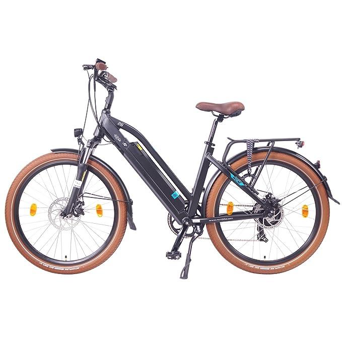 NCM Milano 26 pulgadas bicicleta eléctrica Hombre/Mujer Unisex Pedelec, E-Bike, bicicleta de trekking, 36 V 250 W 14 Ah Batería de ión de litio con células ...