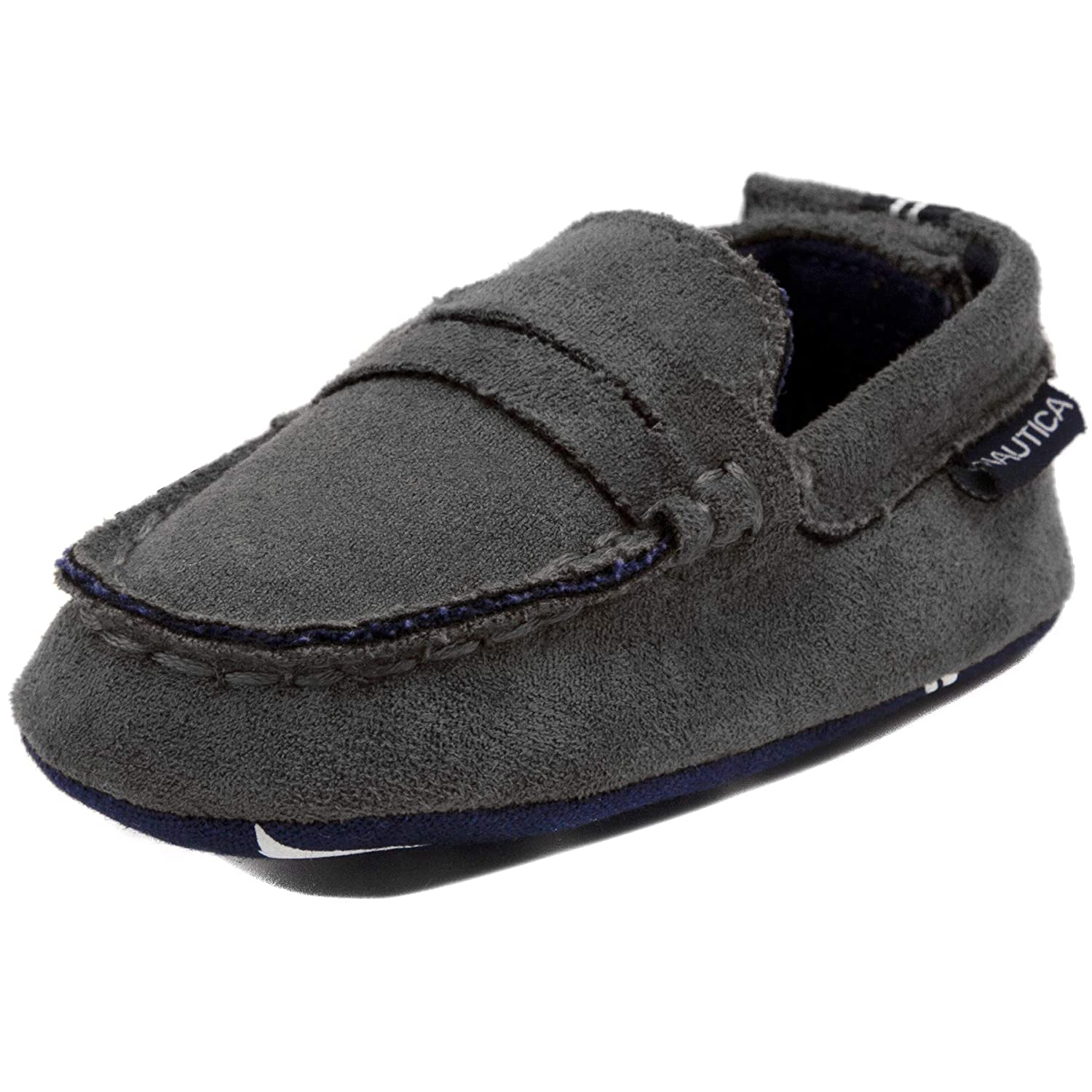 Toddler//Infant Soft Sole Shoes Baby Prewalker Nautica Tiny Pryson Slip-On Crib Penny Loafer