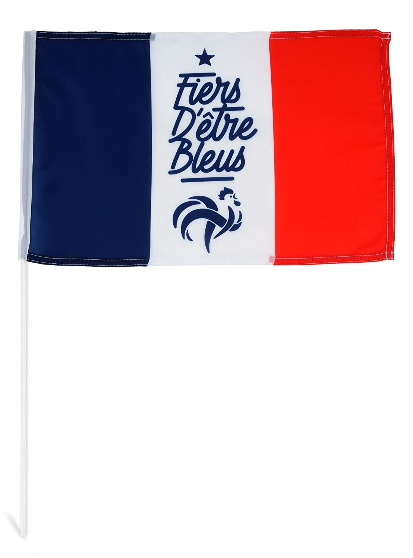 Inconnu FFF Eje 30x 45Fiers de Etre Acres Bandera Deporte Unisex, Azul Blanco Rojo