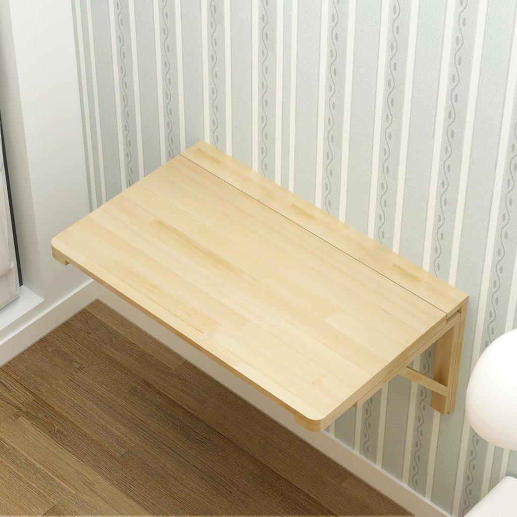 折り畳みテーブルダイニングテーブル壁掛けコンピュータデスクサイドテーブルソリッドウッド壁掛け折り畳み式デスク ( サイズ さいず : 100cm*50cm ) B07BTLN897 100cm*50cm 100cm*50cm