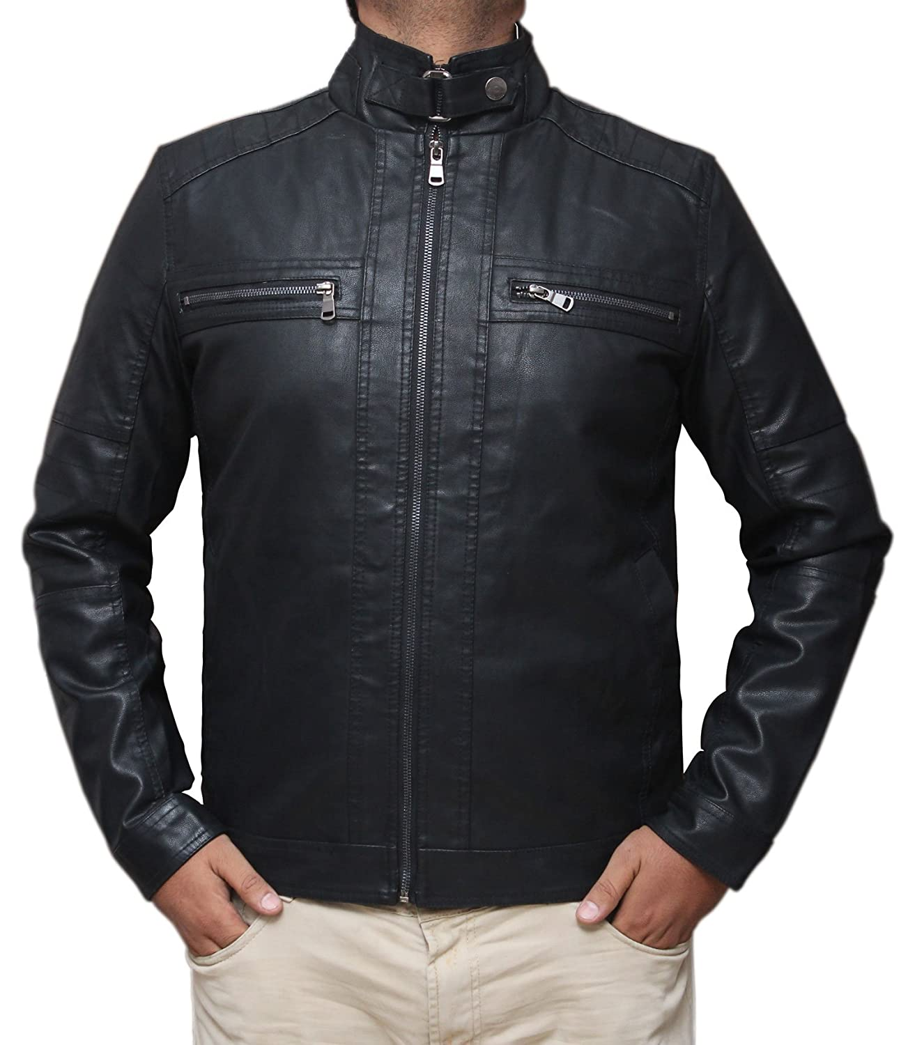 08e7b5bfed A fashionable and stylish eye-catching leather jackets made from high  quality Leather