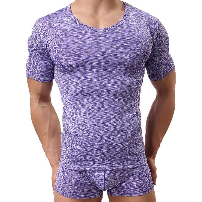 super popular c7e8c fb526 Morwind Maglie da Uomo Estive,Magliette Estiva Uomo T-Shirt ...