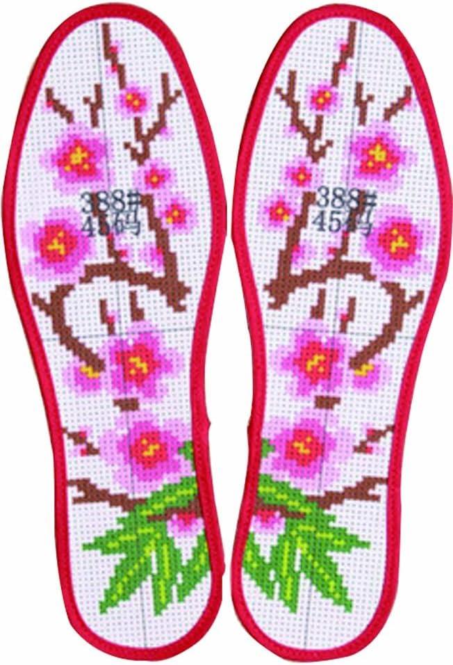 Colorido seis capas de paño de algodón DIY plantillas bordadas a mano plantillas: Amazon.es: Salud y cuidado personal