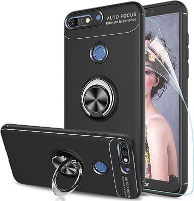 LeYi Funda Huawei Honor 7C con Anillo Soporte, 360 Grados ...