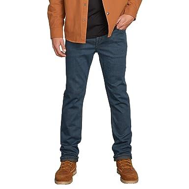 47cab1ded2 Amazon.com: Volcom Men's Solver Denim Jean: Clothing