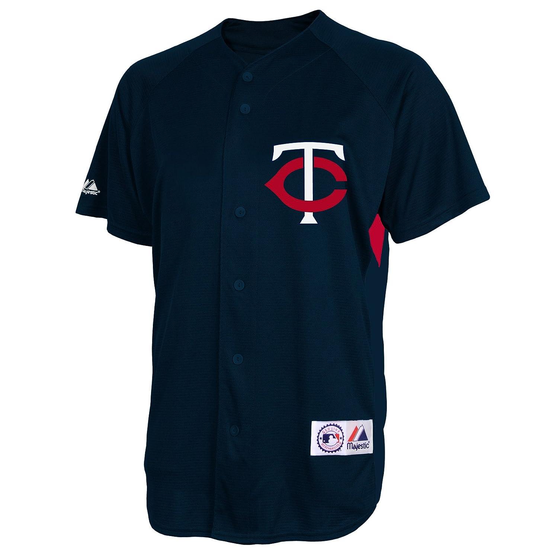 bf536f0f Amazon.com : MLB Minnesota Twins Joe Mauer #7 Replica Batting Practice Home  Jersey : Sports Fan Jerseys : Sports & Outdoors