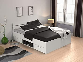 Mobelando Kompaktbett Doppelbett Bettgestell Bett Bettrahmen