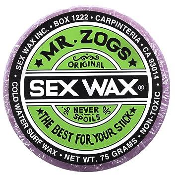 (Grape Light Purple) - Mr Zogs Original Sexwax - Cold Water Temperature Coconut Scented