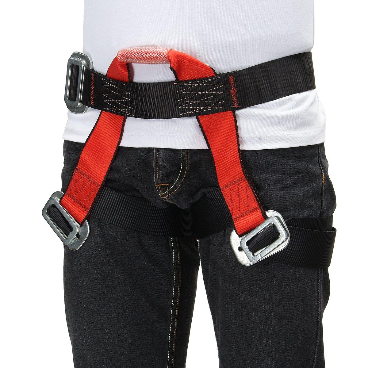 QOJA outdoor mountain rock climbing rappelling harness bust belt by QOJA (Image #4)