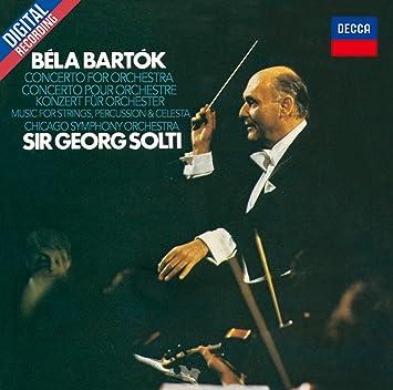 バルトーク: 管弦楽のための協奏曲、弦楽器・打楽器とチェレスタのための音楽