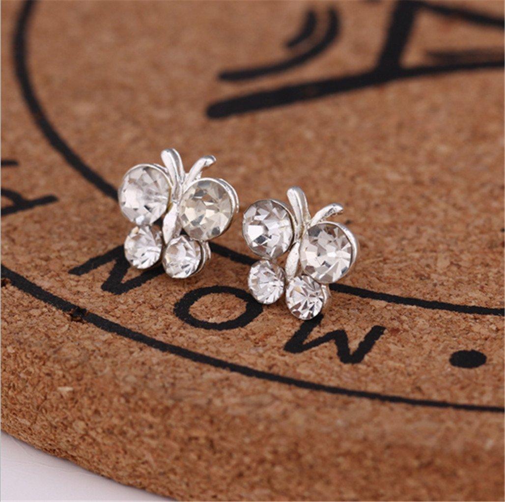 New Fashion Earrings Love Ear Studs Girls Trend Earrings,Butterfly