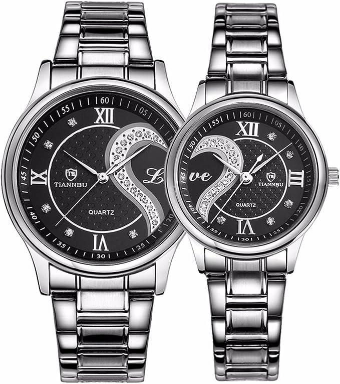 ejemplo de dos relojes para parejas